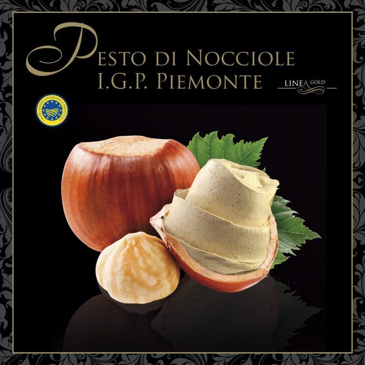 Hazelnut Pesto Gold Line