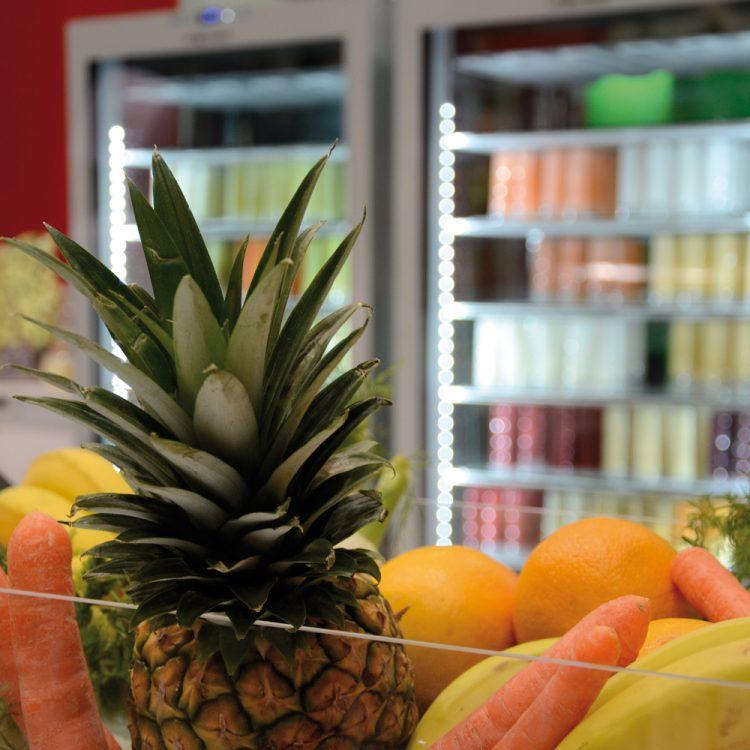 Fruits and Fruitubes at Sigep 2014