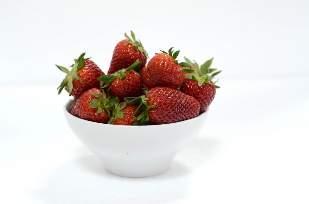 fresh strawberry for Fruitube