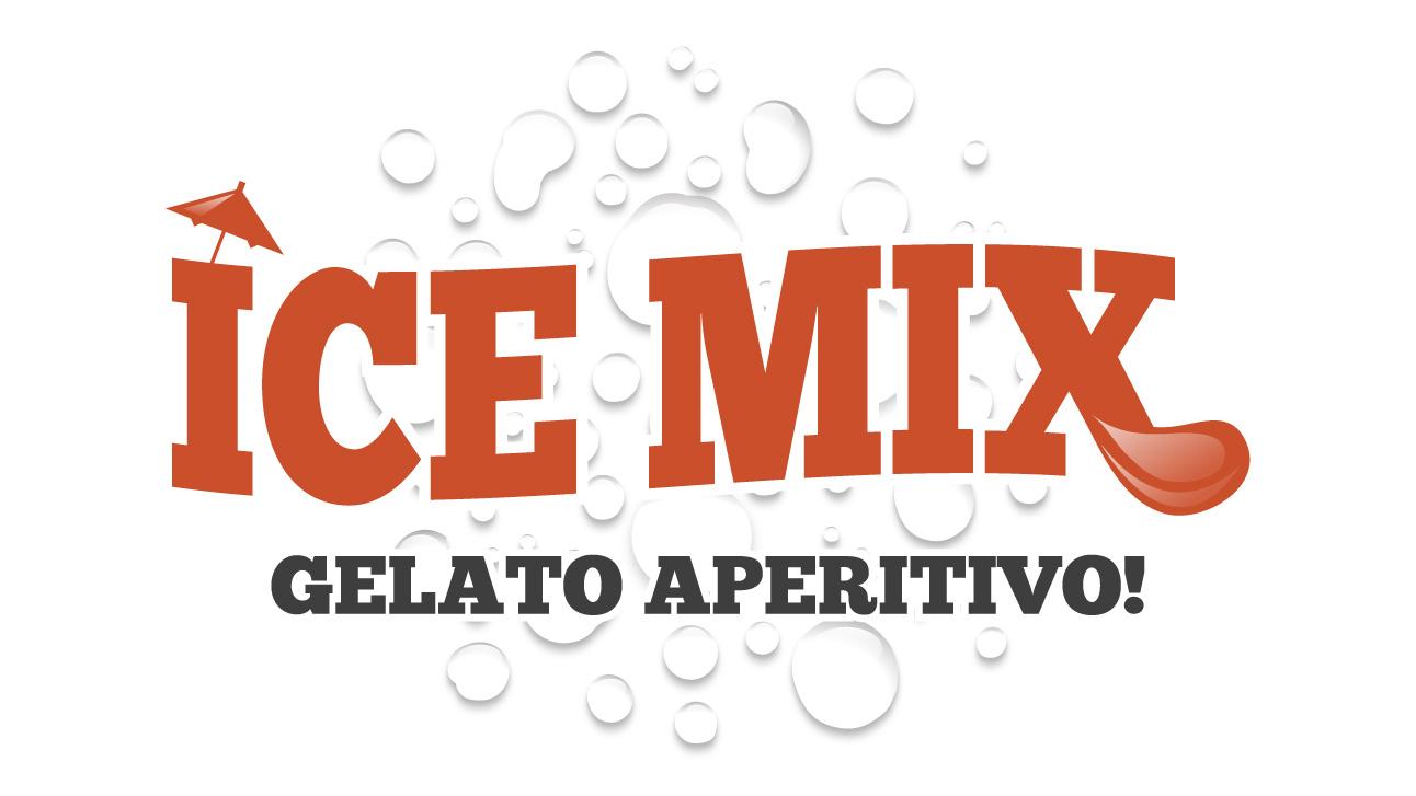 Ice Mix, aperitif ice cream logo
