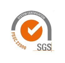 fssc 22000 certification by SGS